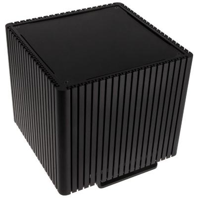 streacom db4 fanless cube case nero
