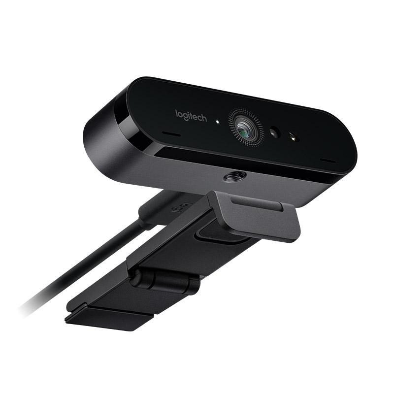 logitech brio 4k stream edition webcam nera