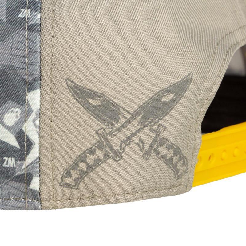 call of duty warzone cappellino modello militare incl 4 patch