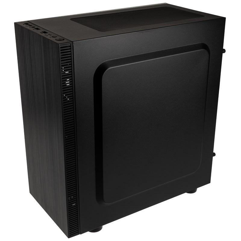 kolink stronghold m micro atx case vetro temperato nero