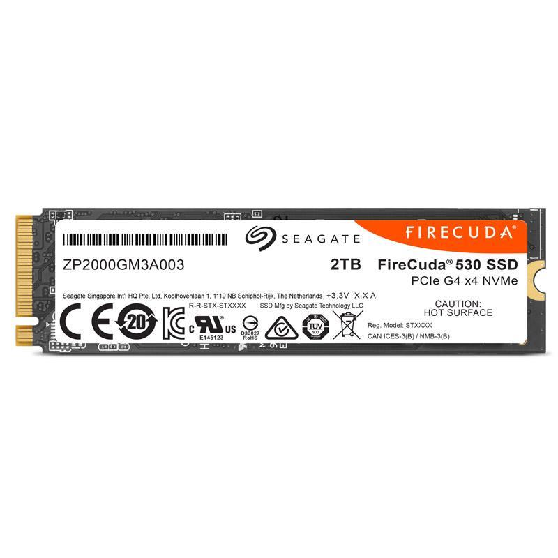 seagate firecuda 530 nvme ssd pcie 40 m2 type 2280 2 tb
