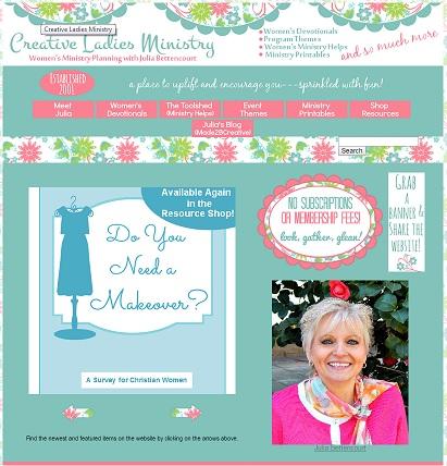 Creative Ladies Ministry Website