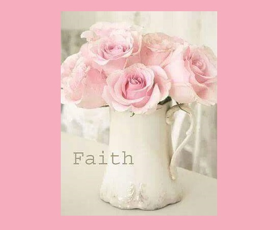 Faith is simply believing that God CAN, and He WILL.