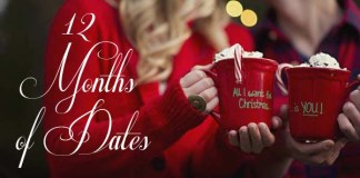 "Christmas Gift Idea ""12 Months of Dates"""