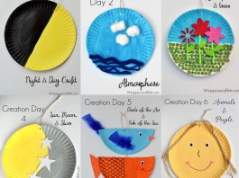 Teaching the 7 Days of Creation - Sunday School Craft