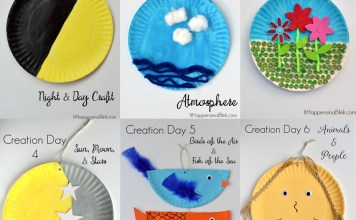 Teaching the 7 Days of Creation - Sunday School Craft