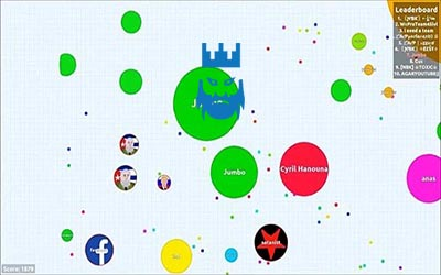 Agar.io Gameplay