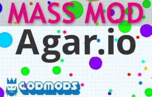 Agar io Mass Mod Q is ready for download on GodMods com