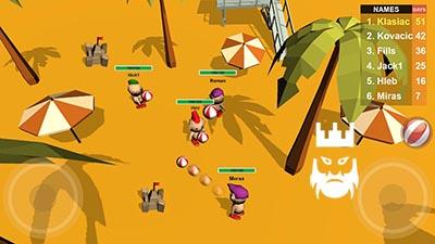 Beachfight.io Gameplay