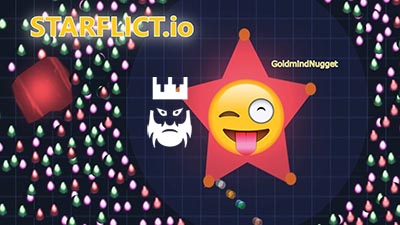 Starflict.io Gameplay
