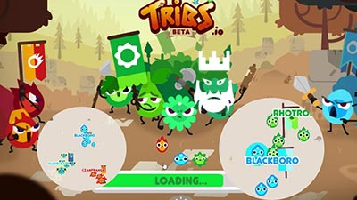 Tribs.io Gameplay