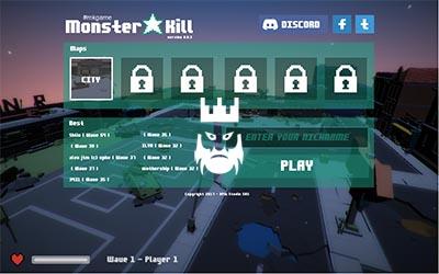 Monsterkill.io Gameplay