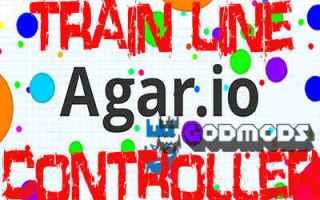 Agar.io Train Line Controller