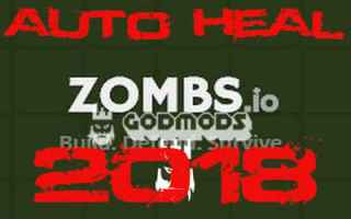Zombs.io Auto Heal 2018