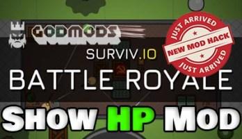 Surviv.io Show HP Mod