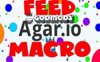 Agar.io Feed Macro