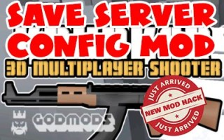 Krunker.io Save Server Config Mod