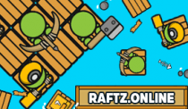 Raftz.online Gameplay