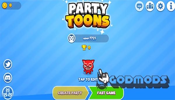 PartyToons.io Gameplay