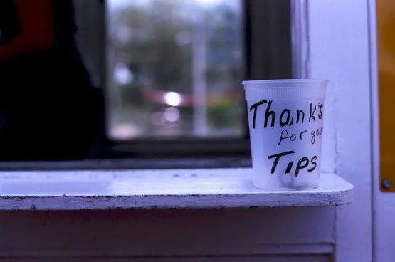Empty Tip Jar