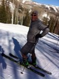 Bonnie's daring partner on the slopes of life... Thank you for believing in GODMothers!