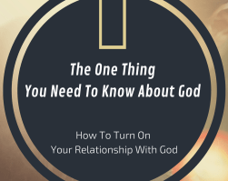 One Thing About God Book Bible Study – Ch. 3