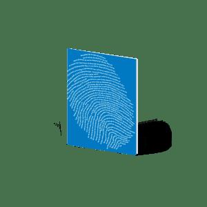Tiefsinnkarten, godnews, Fingerabdruck, Karten