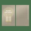 Tiefsinnkarten, godnews, Merry Birthday, Weihnachtskarten