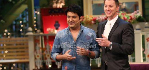 Brett Lee on the Sets of The Kapil Sharma Show