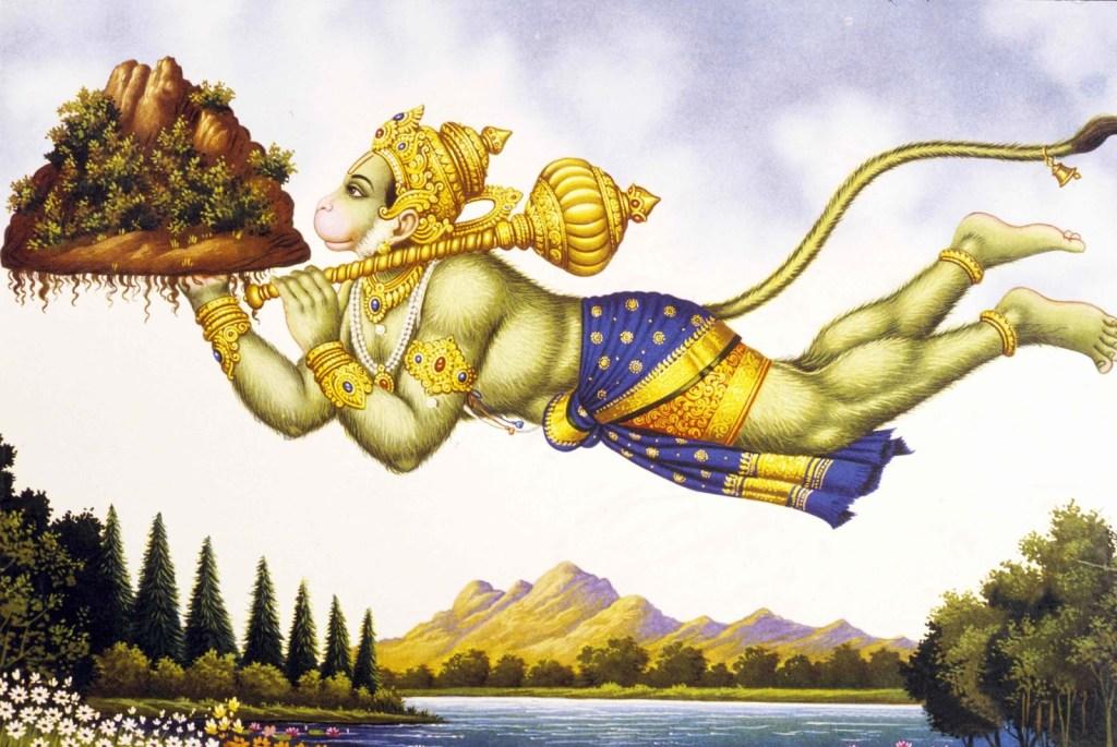 Lord Hanuman Mobile Pics