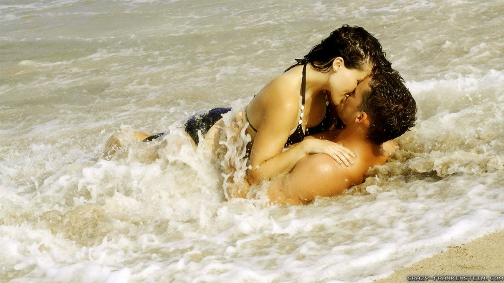 hot couple romantic pic