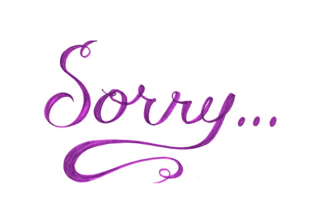 sorry hd pic