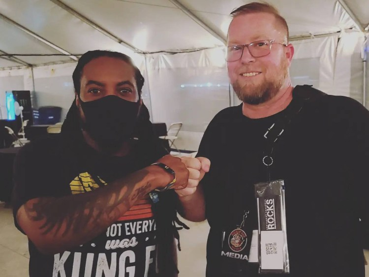Lajon Witherspoon & Ken McClary at Rocklahoma