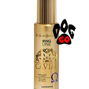 Лосьон для восстановления окраса Iv San Bernard Caviar Luminance (Для блеска шерсти, экстракт красной икры и омега-3) 100 мл.