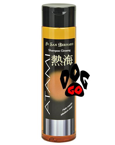 Шампунь Iv San Bernard Ginseng для средней шерсти для собак и кошек (Питание кожи, восстановление) SHGIN300 250 мл