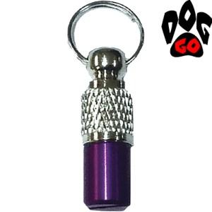 Адресник для собак CROCI из металла (цветной брелок для информации на ошейник) 30мм