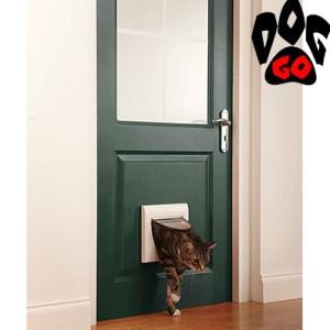 Дверца для кошки CROCI (белый пластик, 4 режима, до 7 кг) 224х224см-2