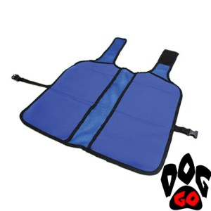Охлаждающая накидка для собак CROCI + блоки для замораживания (74X53см), синий-2