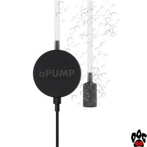"""Бесшумный компрессор для аквариума """"aPUMP"""" COLLAR (до 100 литров)"""