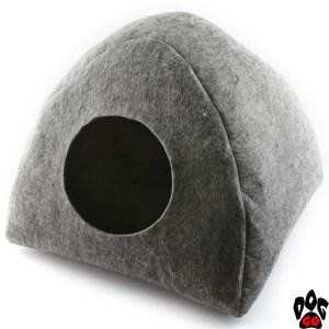 """Дом для кошки """"Digitalwool"""" Палатка без подушки 40x39x33 см"""
