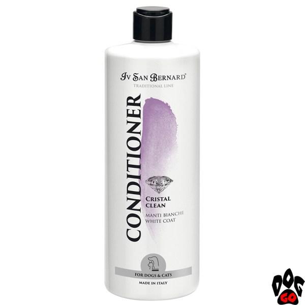 """Кондиционер для белых собак и кошек IV SAN BERNARD """"Cristal Clean"""" для белой шерсти (500 мл)"""
