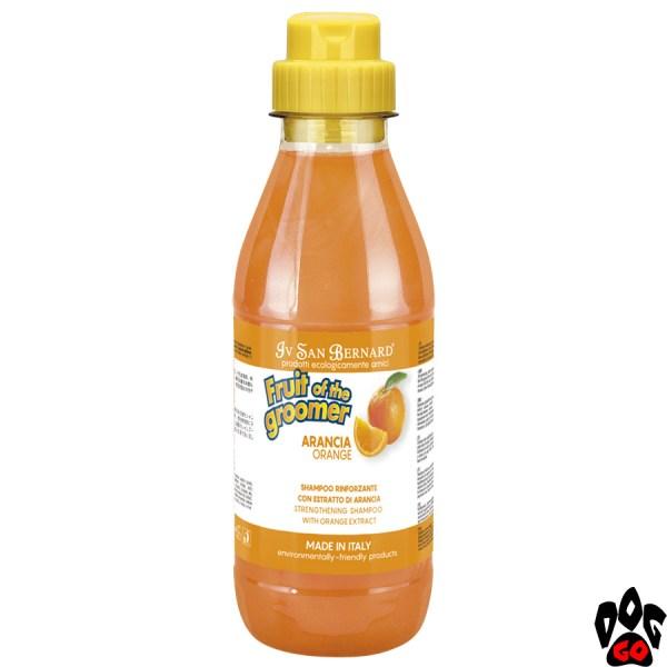 """Шампунь для собак от выпадения шерсти IV SAN BERNARD """"Orange"""" с апельсином, (500 мл)"""