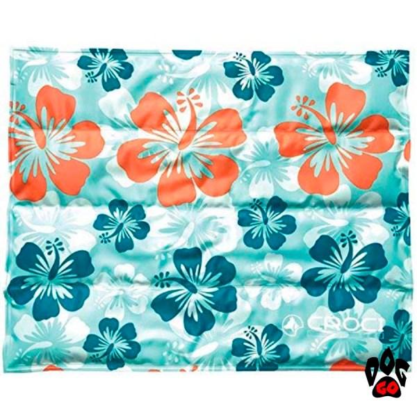 """CROCI охлаждающий коврик для собак """"Гаваи"""" 90x50 см"""