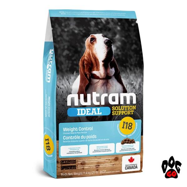 Cухой корм для собак Гипоаллергенный NUTRAM Ideal Solution Support I18, холистик с курицей, 1 кг
