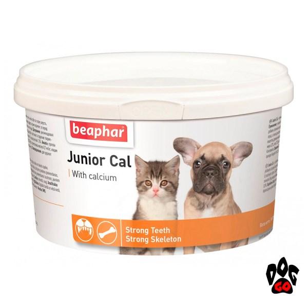 BEAPHAR Кальций для щенков и котят Junior Cal, 200 г