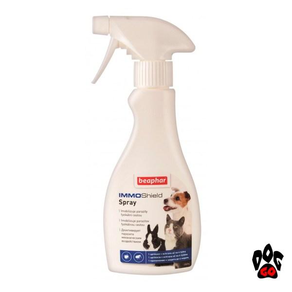 BEAPHAR Спрей от блох IMMO Shield для кошек, собак, грызунов и кроликов, 250 мл