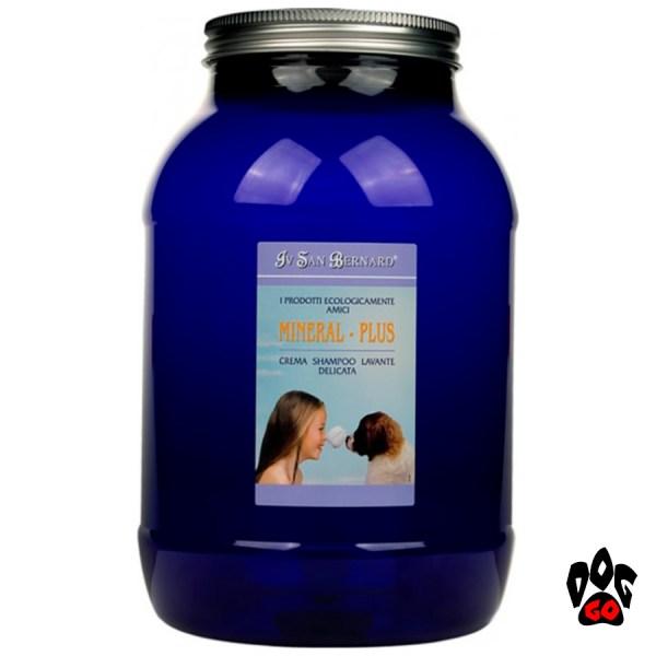 Шампунь для собак от дерматита Iv San Bernard Mineral Plus Cream для воспаленной кожи (кот/собака) 100мл-3л-3