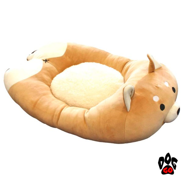CROCI Лежак для собак Fluffy Corgi, 80х45см-1