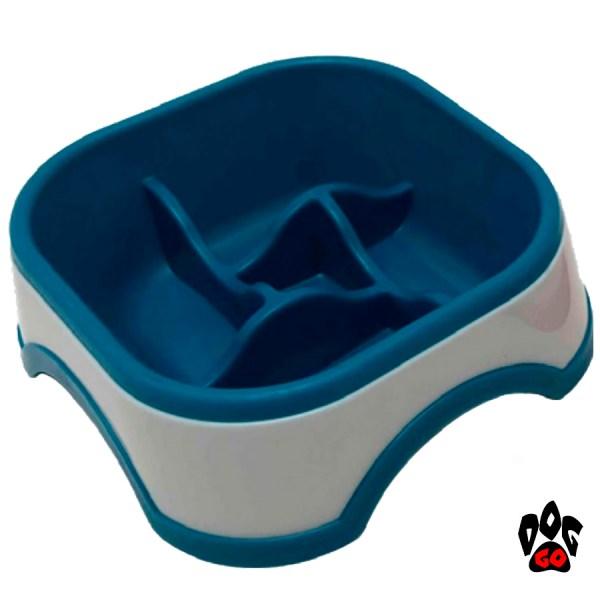 Миска для собак с ограничителем еды CROCI, резина-2