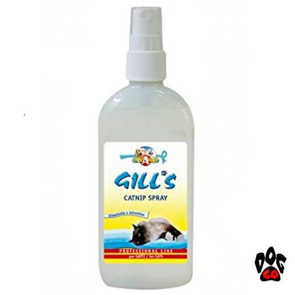 Кошачья мята спрей GILL'S CROCI для приучения к когтеточке 150мл-1